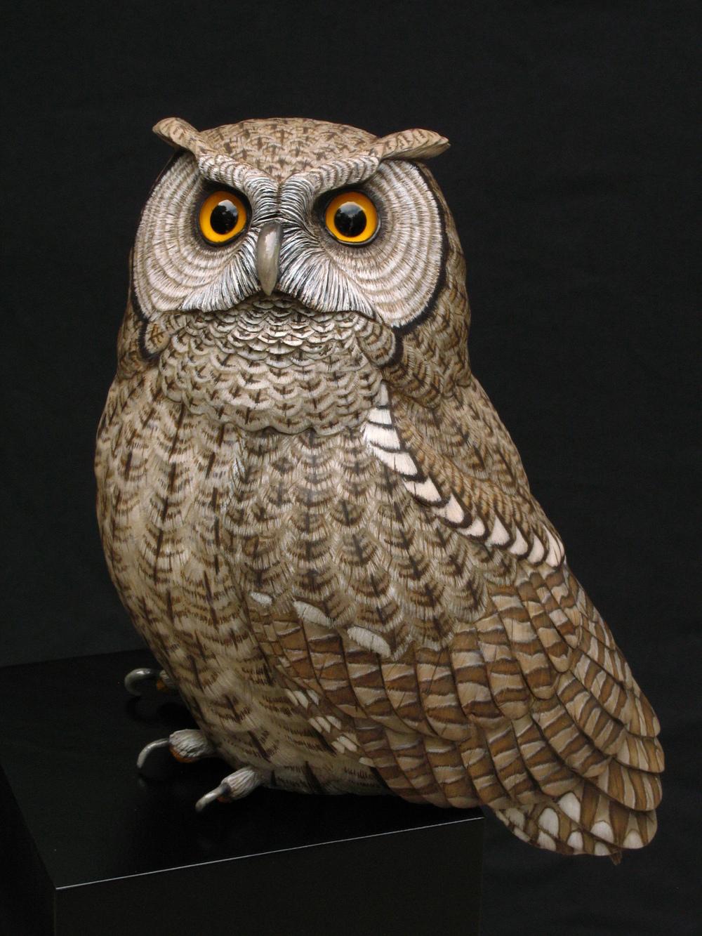 """Moonstruck"", Screech Owl, Life-sized, ♂"