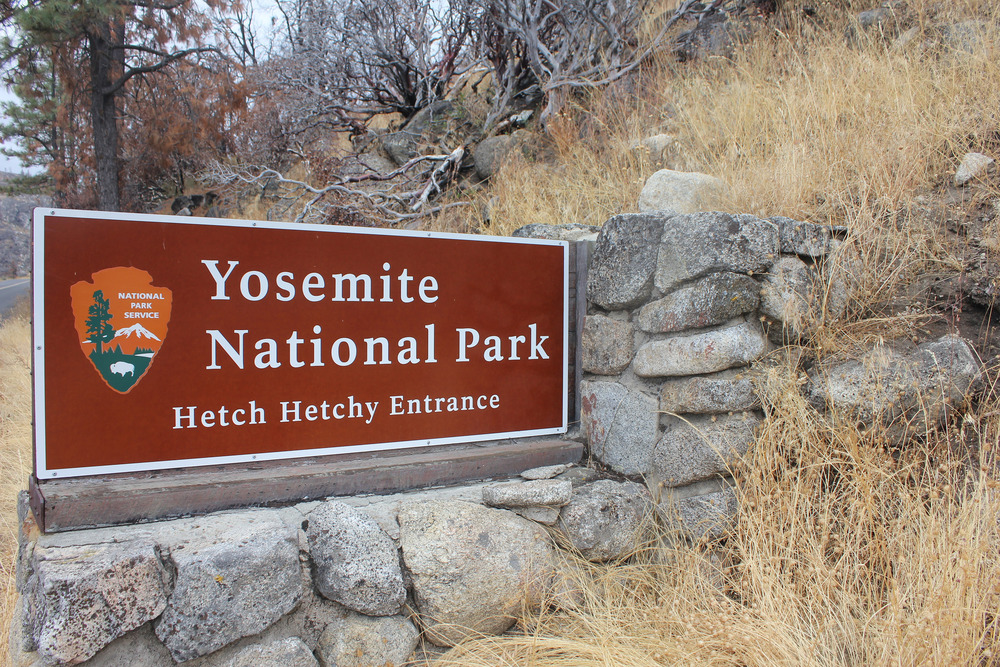 Oh, it's in the national park, ya don't say?