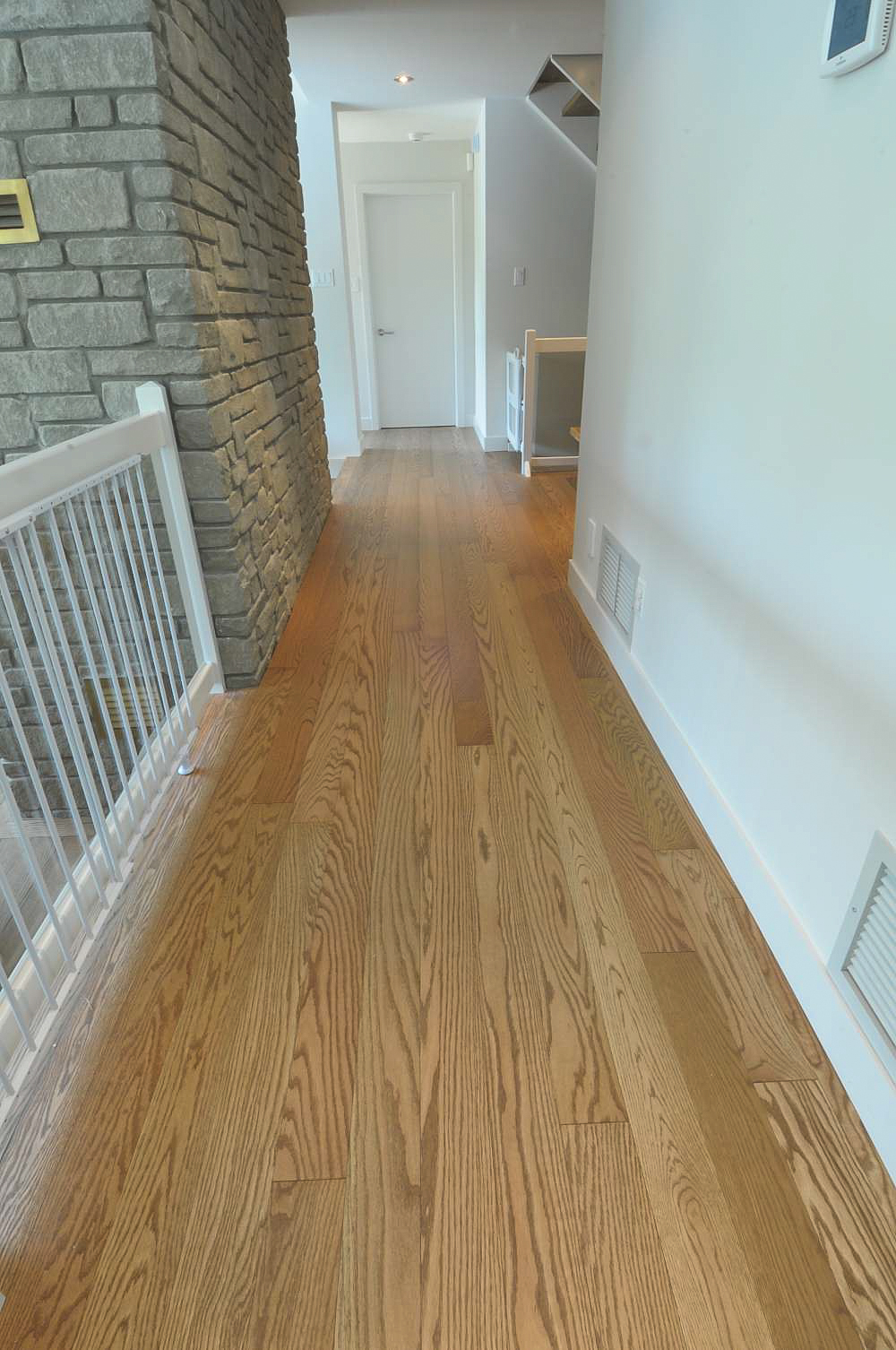 Oiled Finish Ash Hardwood Floor