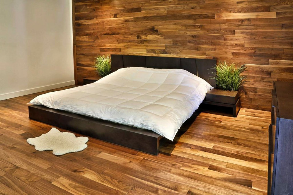 black walnut bedroom floor and wood wall.jpg