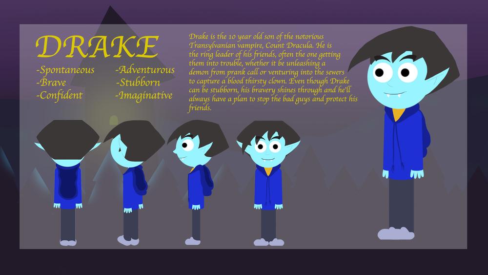 Drake's Character Model Sheet