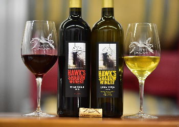 Order now from our secure wine shop and we'll ship your favorite Hawk's Shadow wine directly to your home or office.