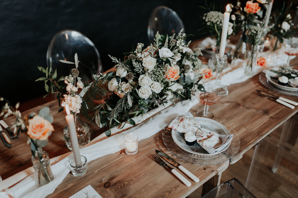 Clare Jones floral design  +  Hall & co event design