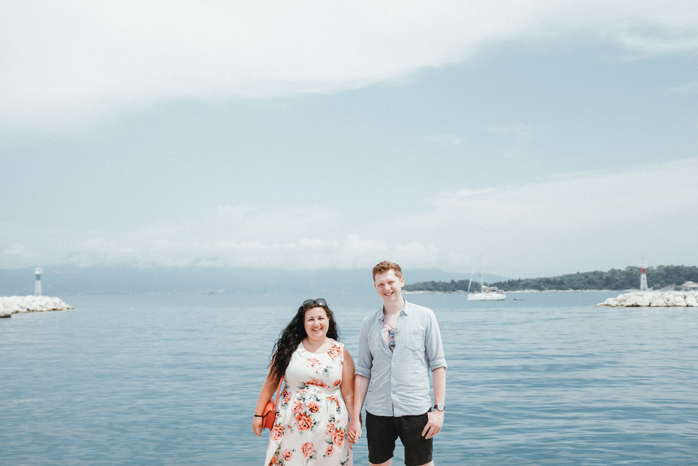 Engagement shoot in Corfu