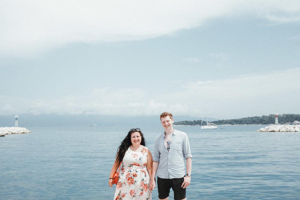 Engagement shoot in Corfu