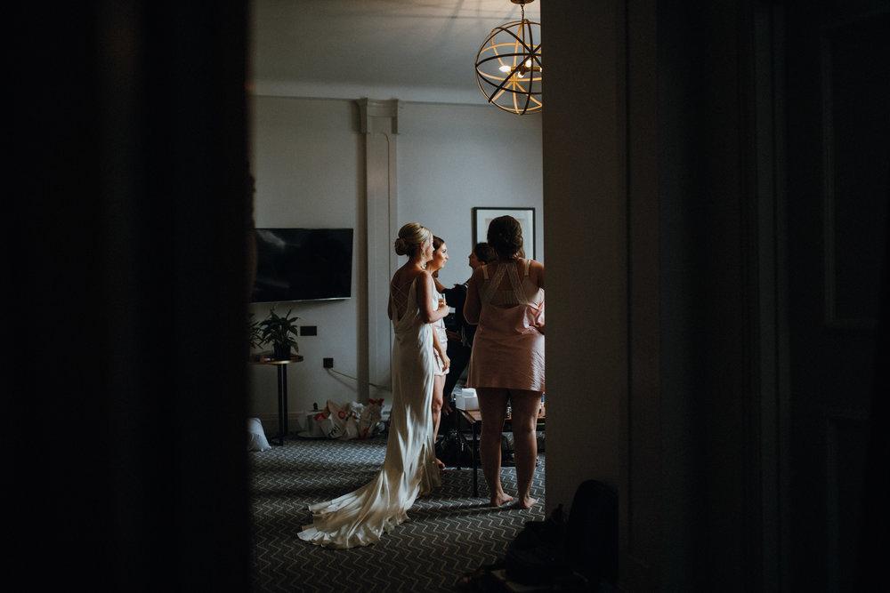 The Principal Hotel Manchester bridal prep