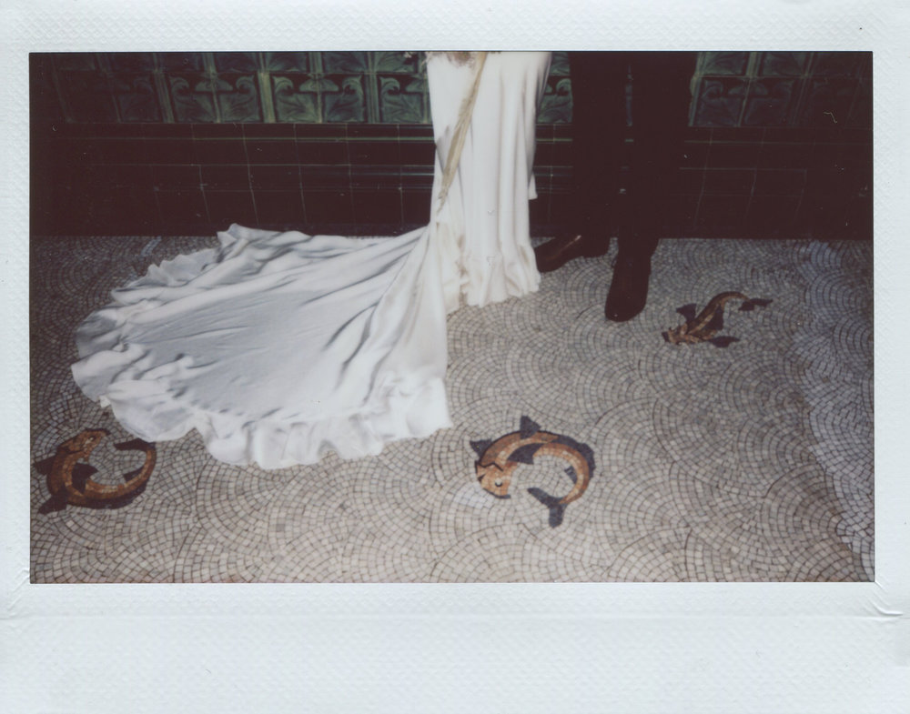 Instax wedding photographer
