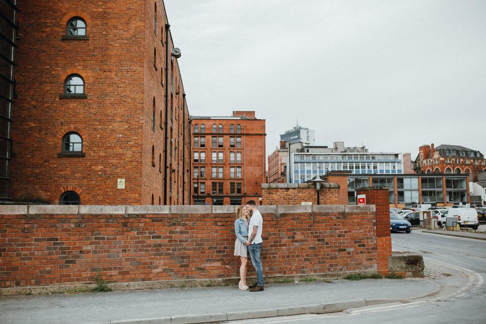 Northern Quarter Manchester engagement shoot