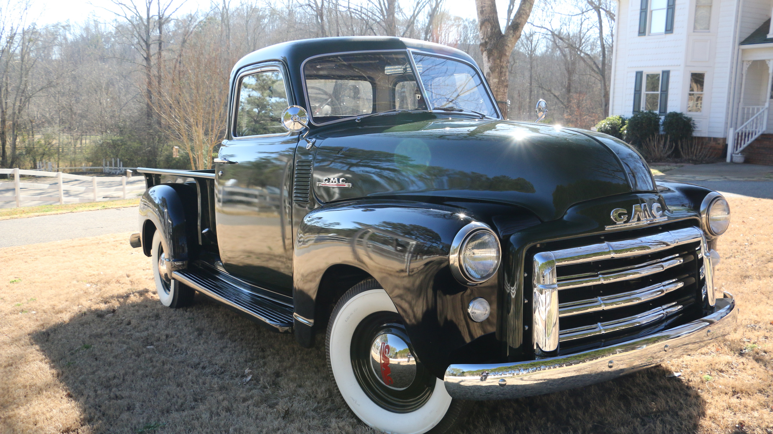 Gallery — Stove Bolt 1947 GMC Longbed Truck