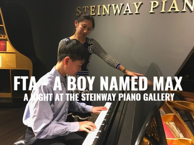 CONVERSATIONS FTA  (From the Archives) features the December 2016 conversation at the Steinway Piano Gallery and A Boy Named Max.  PODCAST