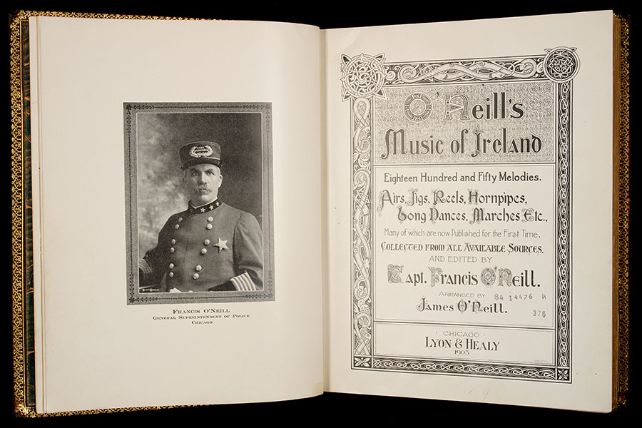 O'Neill's Hibernicana - Chief James O'Neill Collection of Irish Traditional music of the 18th and 19th centuries can be found at The University of Notre Dame's Hesburgh Libraries