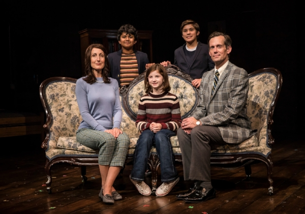 FUN HOME - McKinley Carter, Preetish Chakraborty, Stella Rose Hoyt, Leo Gonzalez, Rob Lindley.