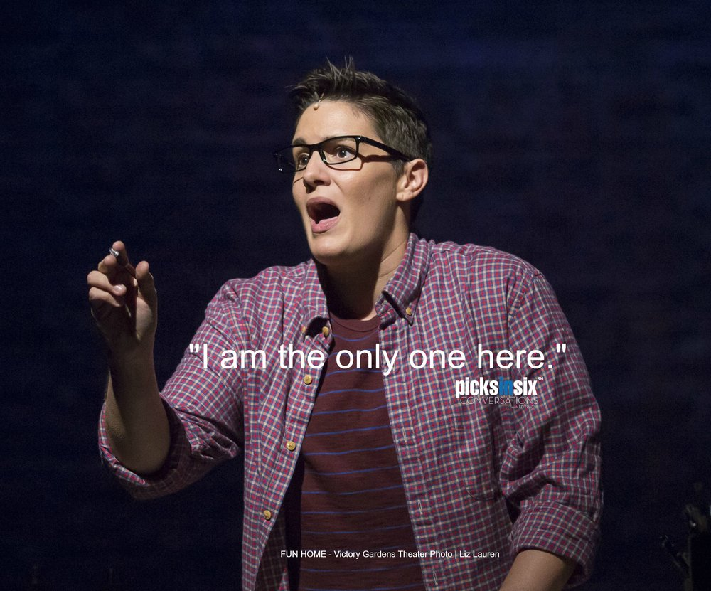 Danni Smith as Alison Bechdal in FUN HOME at Victory Gardens