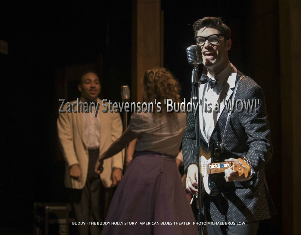 HOTPICK:    American Blues Theater's Buddy - The Buddy Holly Story    at    Stage 773 1225 W Belmont    now playing through May 26th.    Photo|Michael Brosilow     PICKSINSIX       TICKETS