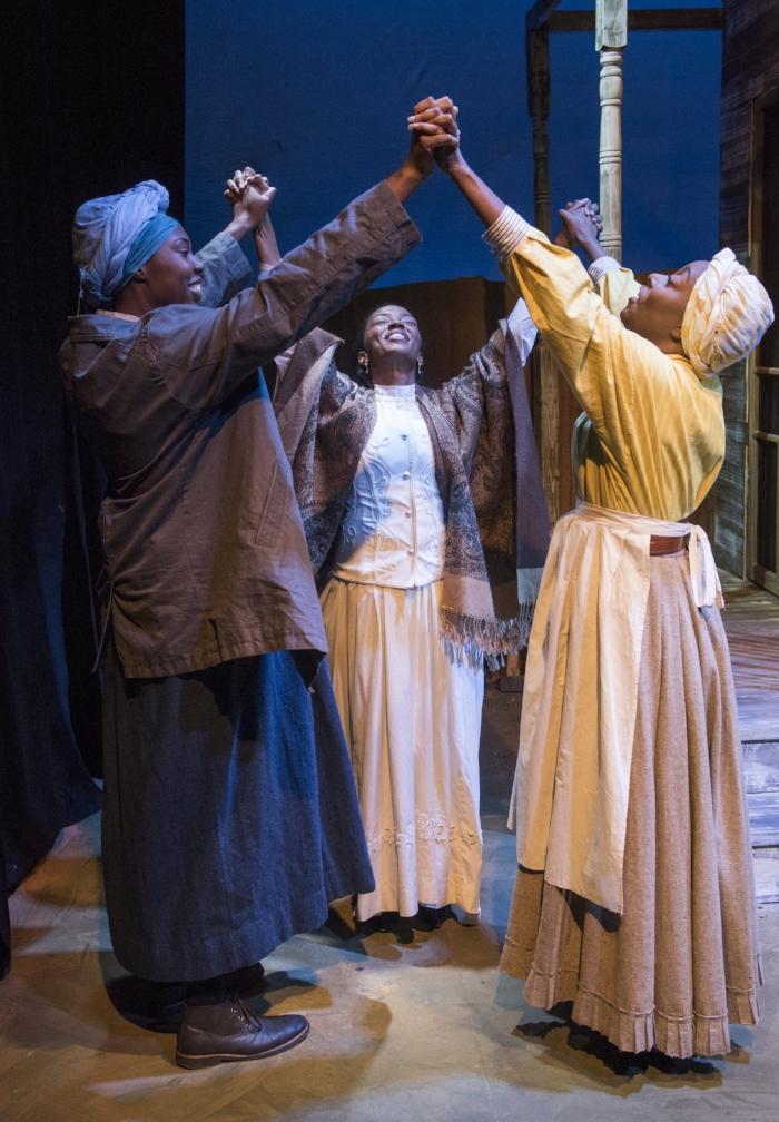 Tiffany Oglesby, Tiffany Renee Johnson, Sydney Charles. Photo by Michael Brosilow.jpg
