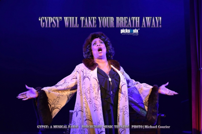 TOP PICK!         PORCHLIGHT MUSIC THEATRE Presents GYPSY: A MUSICAL FABLE EXTENDED through December 29th RUTH PAGE CENTER FOR THE ARTS    1016 N. Dearborn St. Chicago  (773) 777-9884     WEBSITE     CONVERSATIONS podcasts available on    Apple Podcasts   ,    Libsyn    and    Stitcher   .     For more reviews, visit:      Theatre In Chicago       ARCHIVE