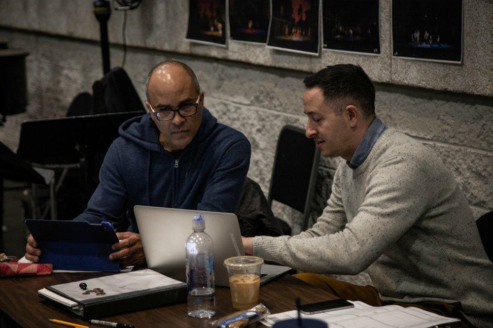 Julio Monge & Eric Sean Fogel Cioffi Photo