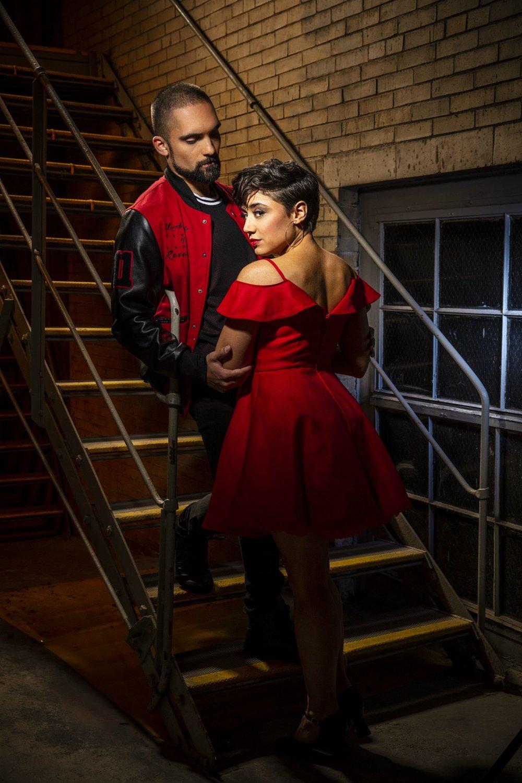 Manuel Stark Santos & Amanda Castro Todd Rosenberg Photo