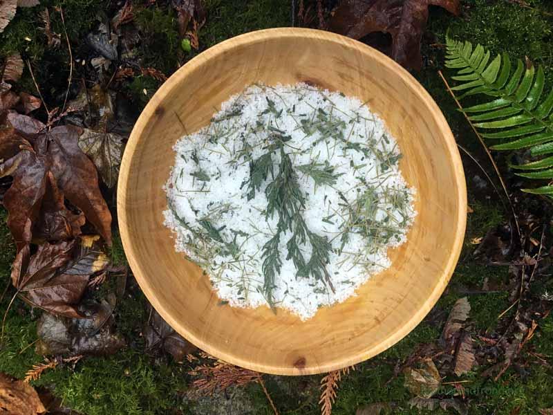 Cedar and Fir Bath Salts