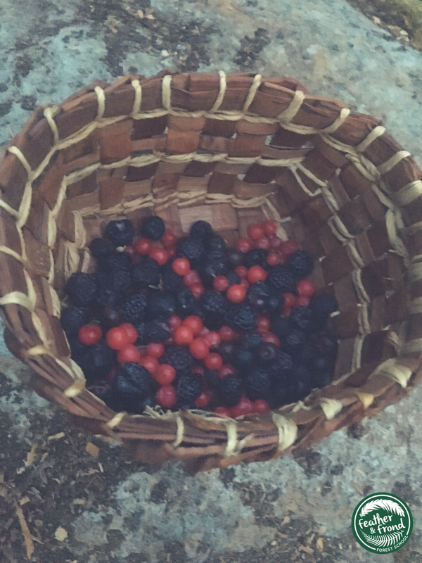 Basket fulL of WIld Tasty Goodness...  Summer in tHE PNW is magic!
