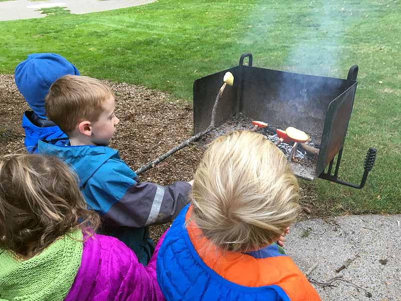 Apple roasting