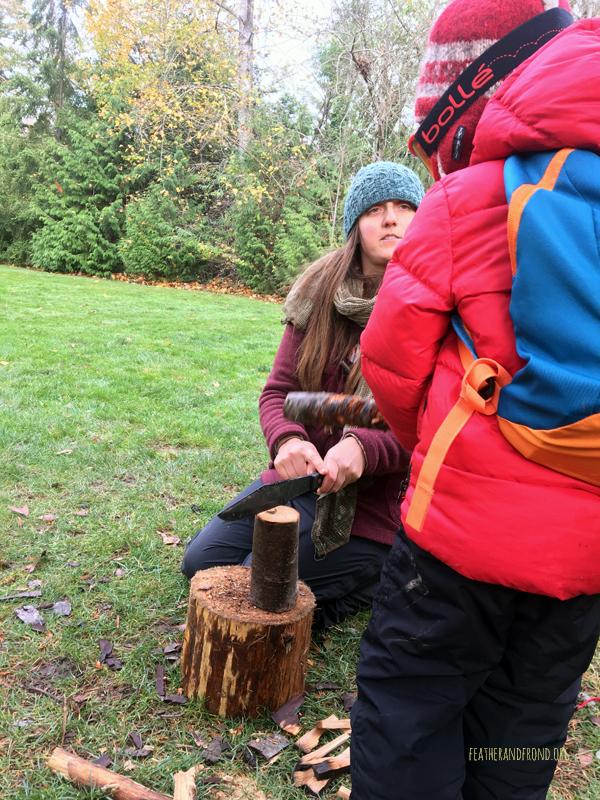 Batoning Wood