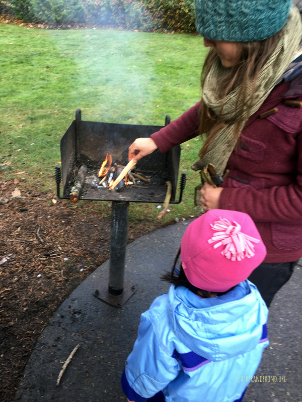 Making Pitch Torches