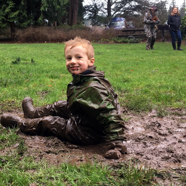 A friendly mud monster...