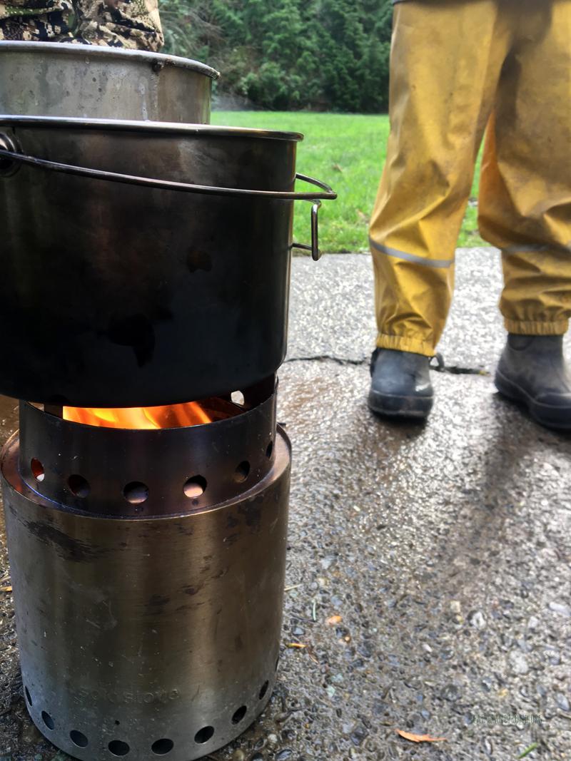 Double Combustion Double Boiler