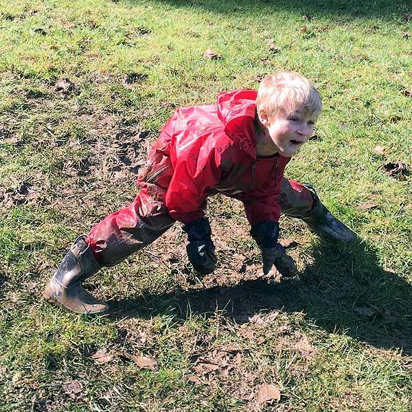 Fun in the mud & sun!