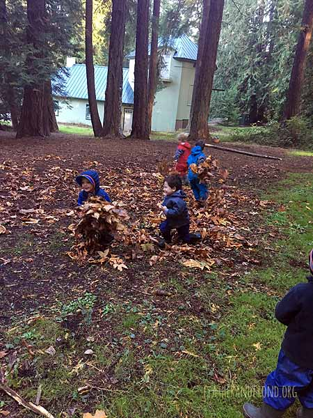 """Playing """"Leaf Monster""""!"""