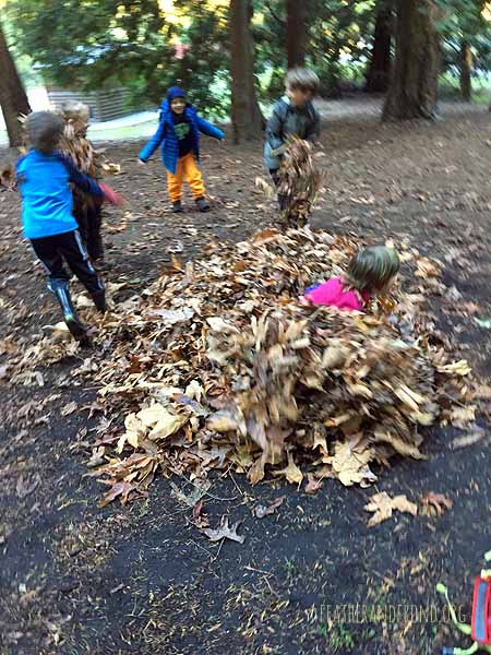Leaf monsters. . .