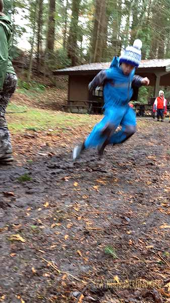 It's mud sliding season..