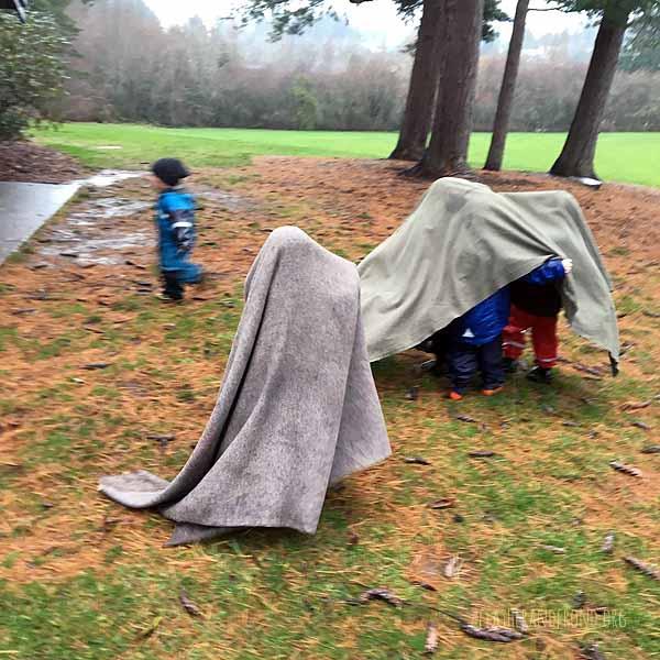 blanket ghosts!