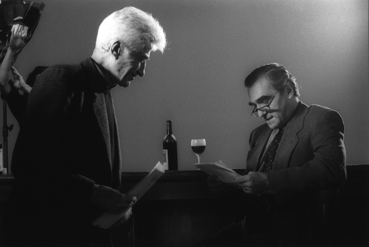 Alain Resnais and Martin Scorsese