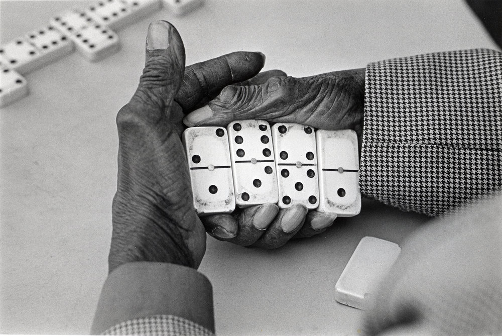 Harlem domino hands.