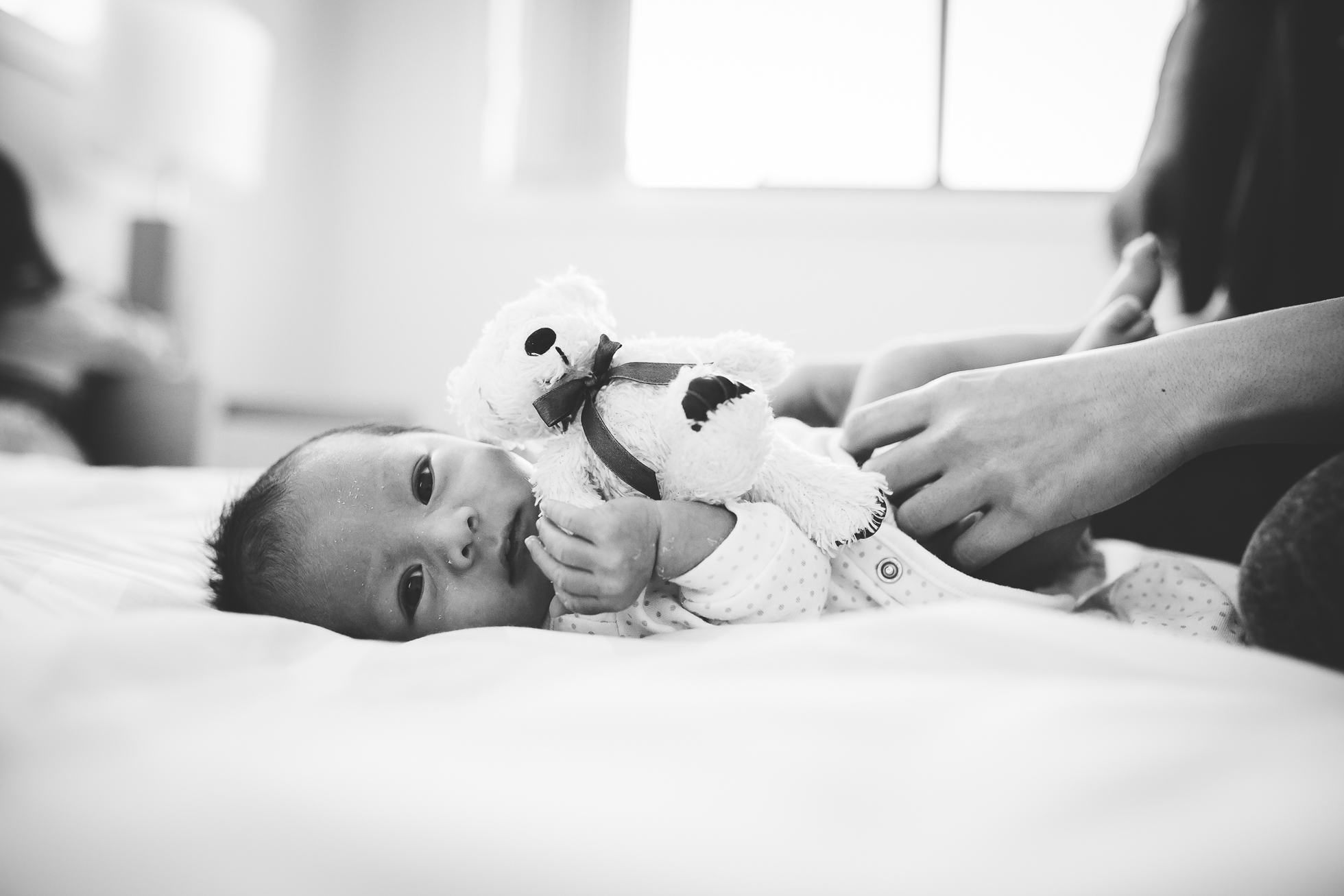 Hills District Newborn Photographer