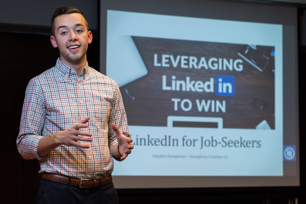 LinkedInWorkshopSpeaking