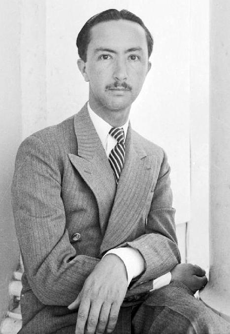 Prince Abdul al-Ilah, mid-1940s. ( Wikipedia )