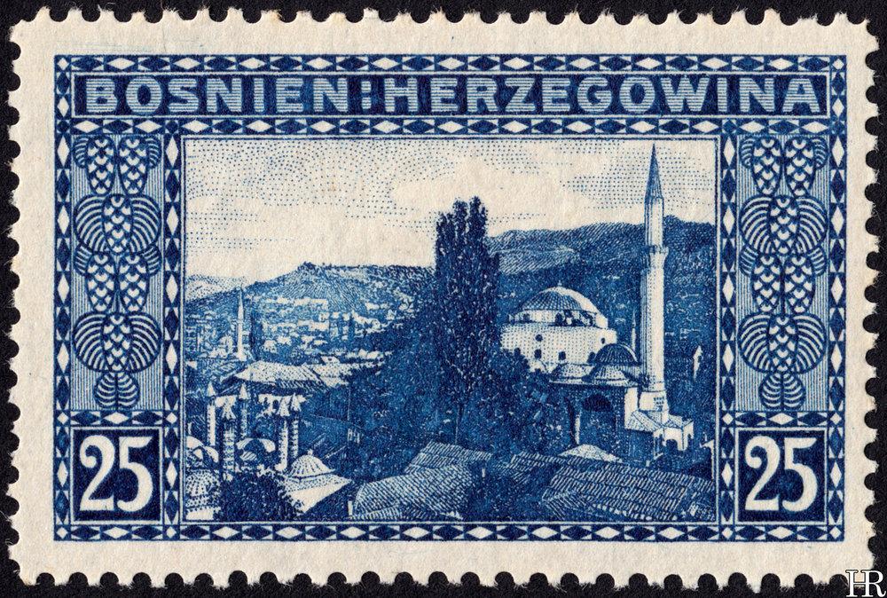 """25 heller - """"The Bey's Mosque, Sarajevo"""""""
