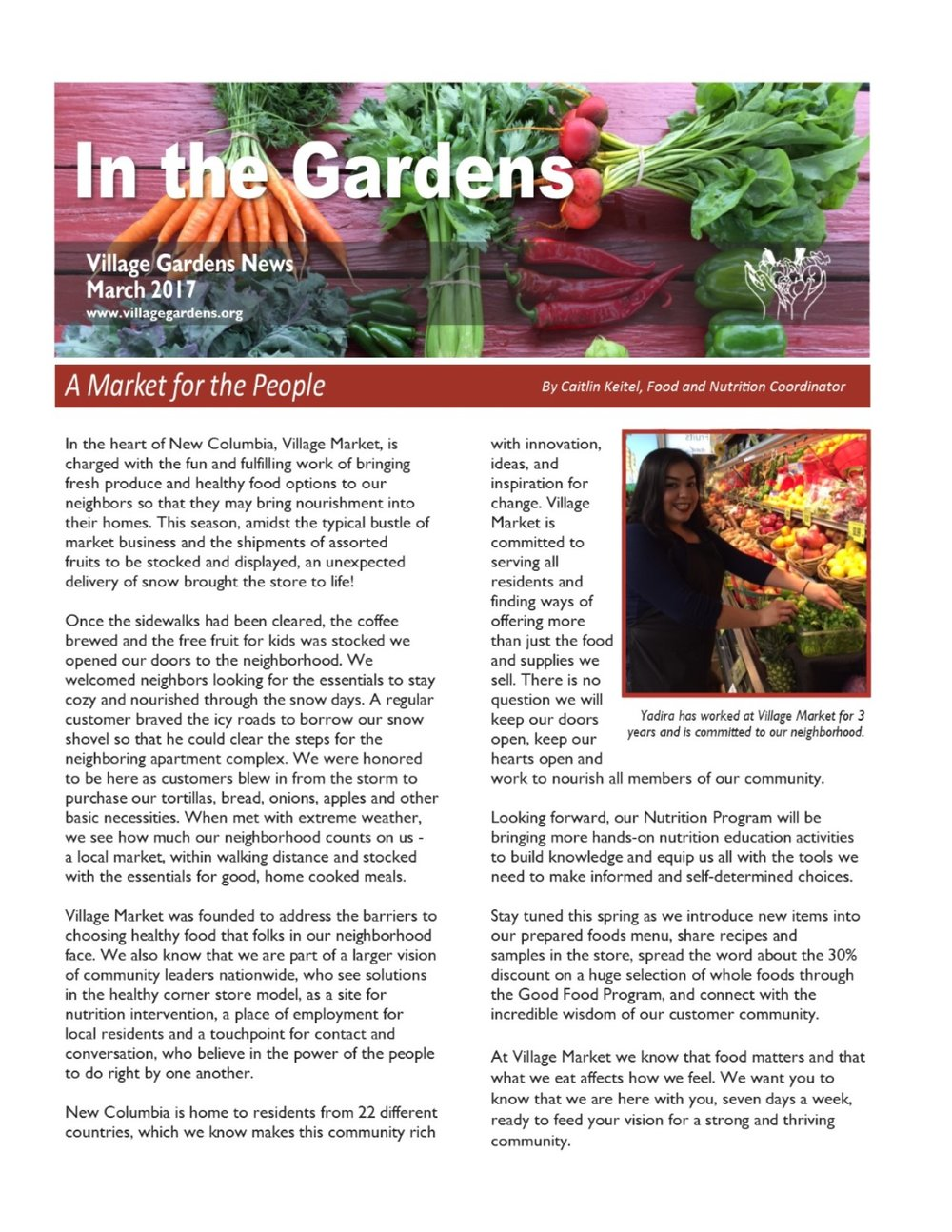 spring 2017 newsletter village gardens