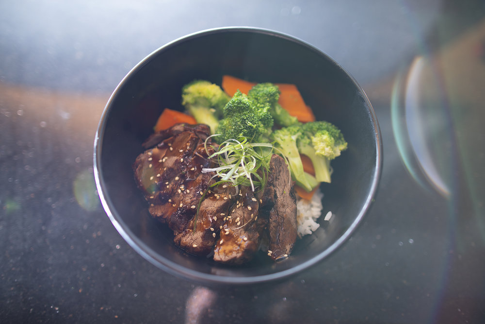 Beef Teriyaki Bowl