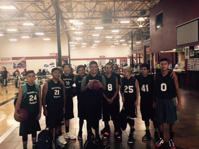 High school boys team