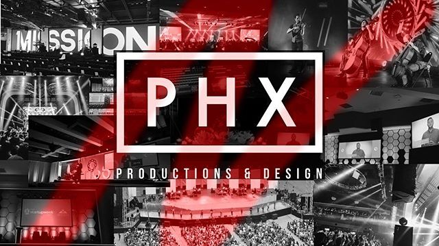Check out our new website!  www.phx.productions