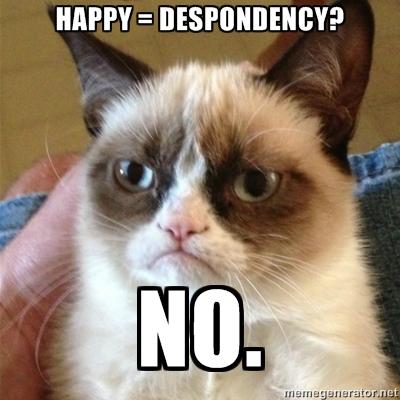 grumpy cat meme for post