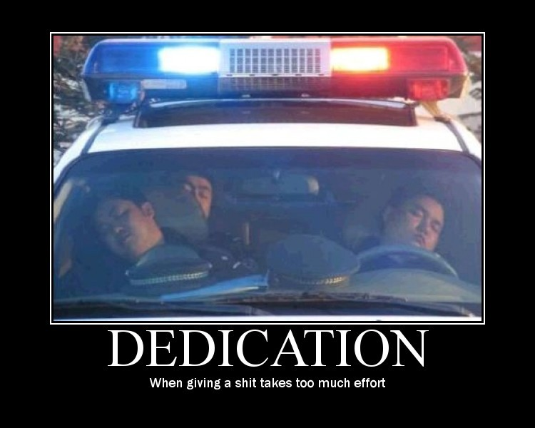 dedication-demotivator