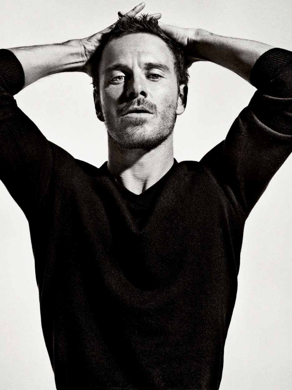 black and white fassbender