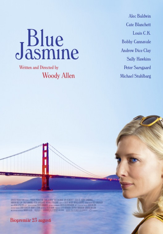 movie poster blue jasmine