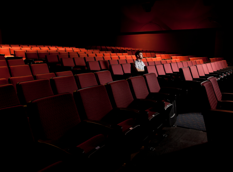 alone in theater