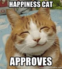 happiness cat 2